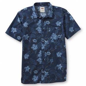 Men's Levi's short sleeve button up size large